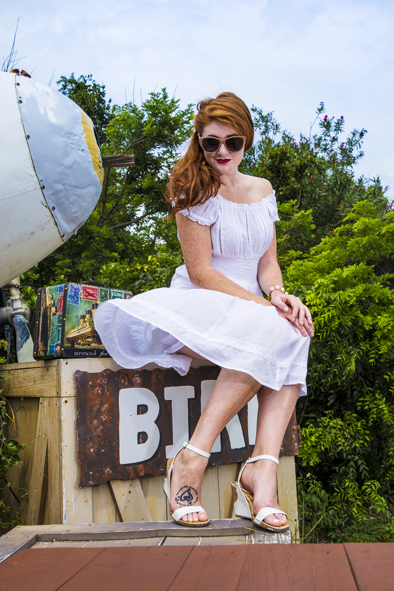 Pin-Up-Style-Shoot in den Bahamas